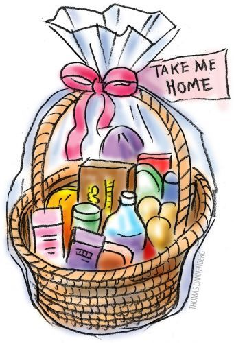 Gift Basket Clipart Free Clipart Images
