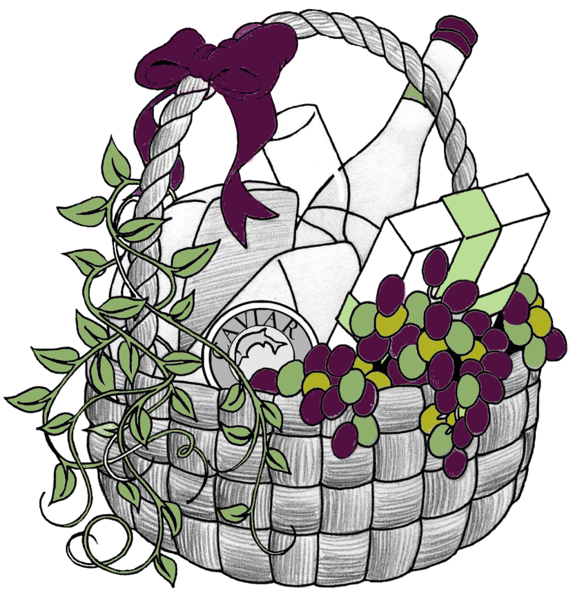 Clip Art Christmas Basket : Best gift basket clip art clipartion