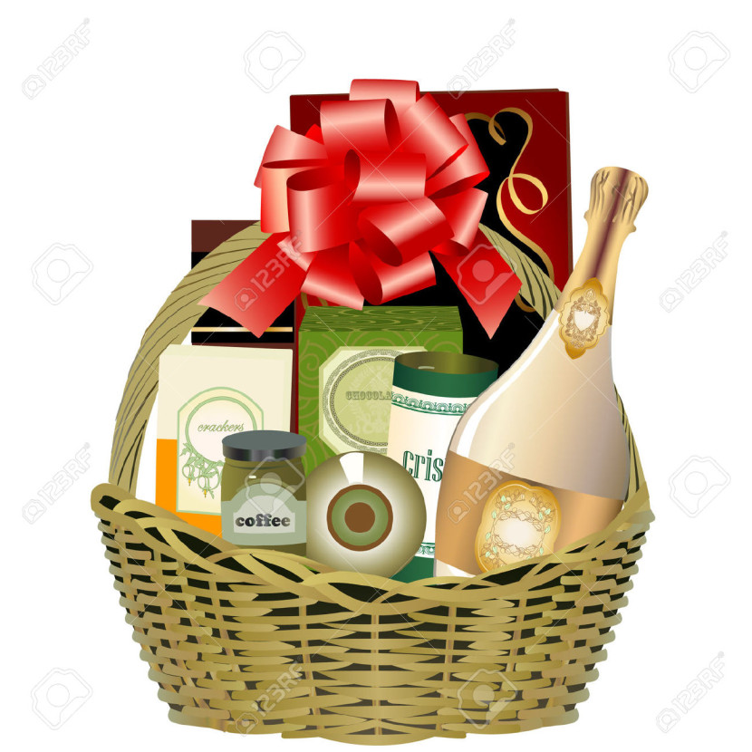 Gift Baskets Toronto Christmas : Gift basket clip art clipartion