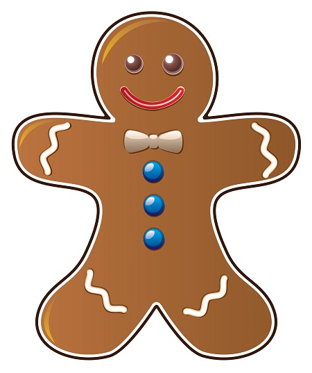 Image result for gingerbread man clipart