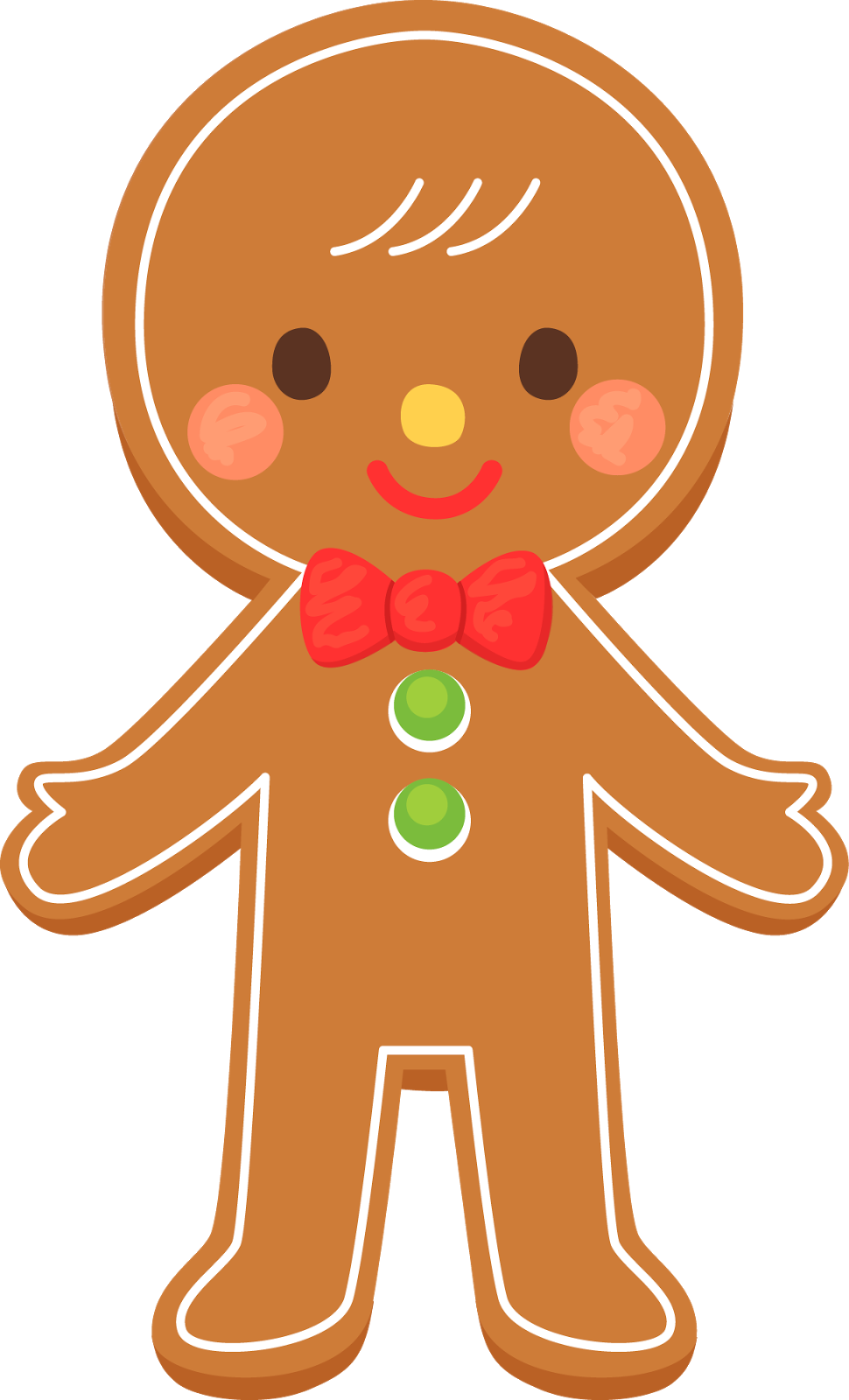 Gingerbread Man Clipart Free Clip Art Images