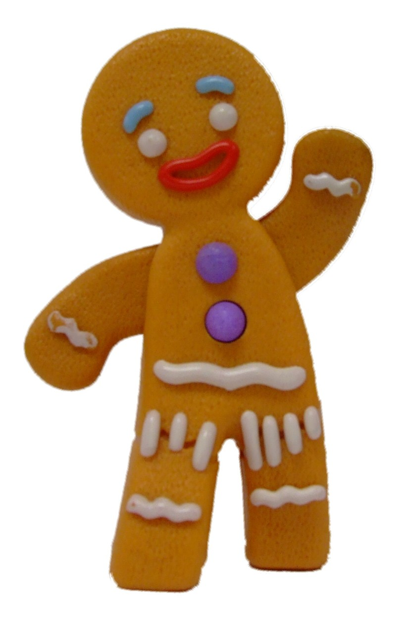 Gingerbread Man Clipart Free Clipart