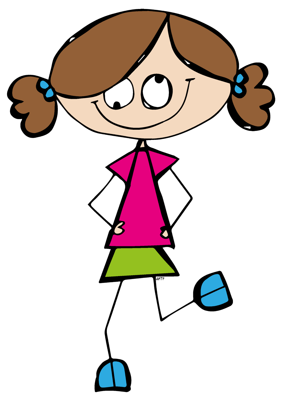 Best Girl Student Clipart #20328 - Clipartion.com