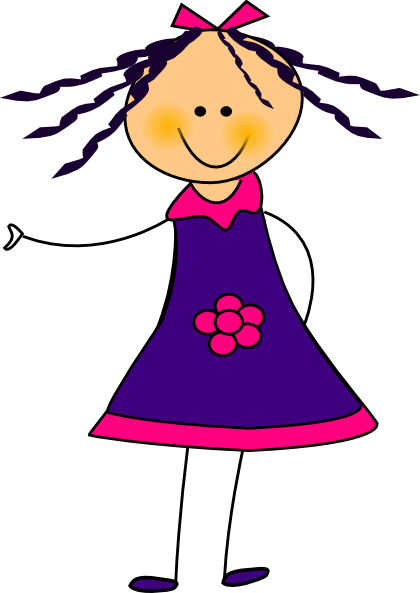 Girl Student Clipart Free Clipart Images