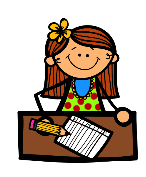 Girl Writing Clipart Free Clipart Images