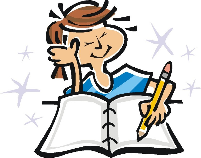 Girl Writing In Diary Clipart Free Clipart Images