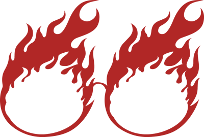 Glasses In Form Of Fire Clipart Free Clip Art Images
