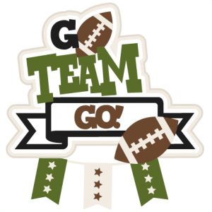 Go Team Football Title Clipart Free Clip Art Images