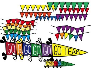 Go Team Score P B And J Clip Art Clip Art Banners And Football