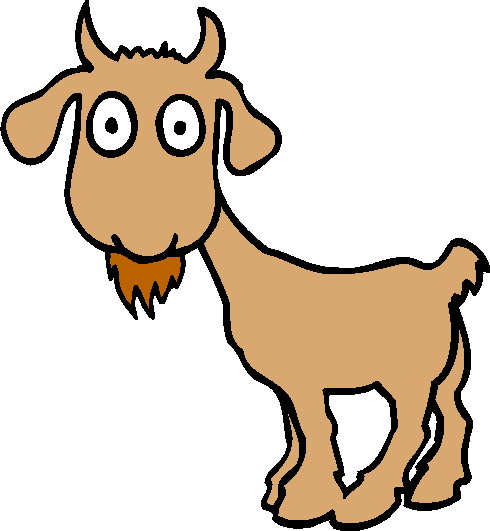 Goat 1 Free Vector Clipart Free Clip Art Images
