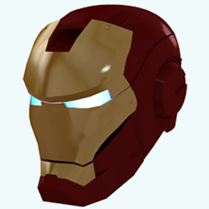 Gold Iron Man Mask Icon Free Images At Vector Clip