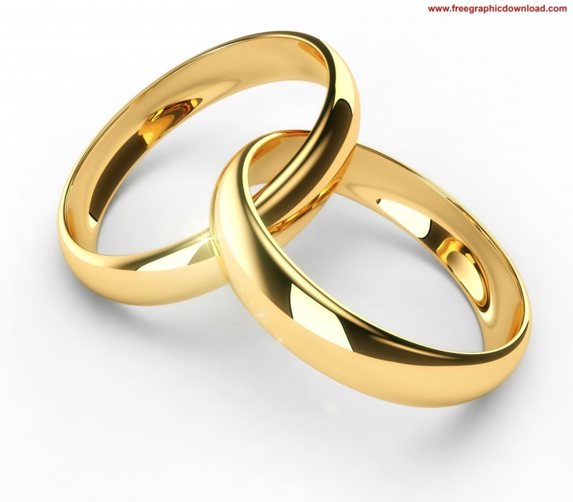 interlocking wedding rings clipart - photo #38