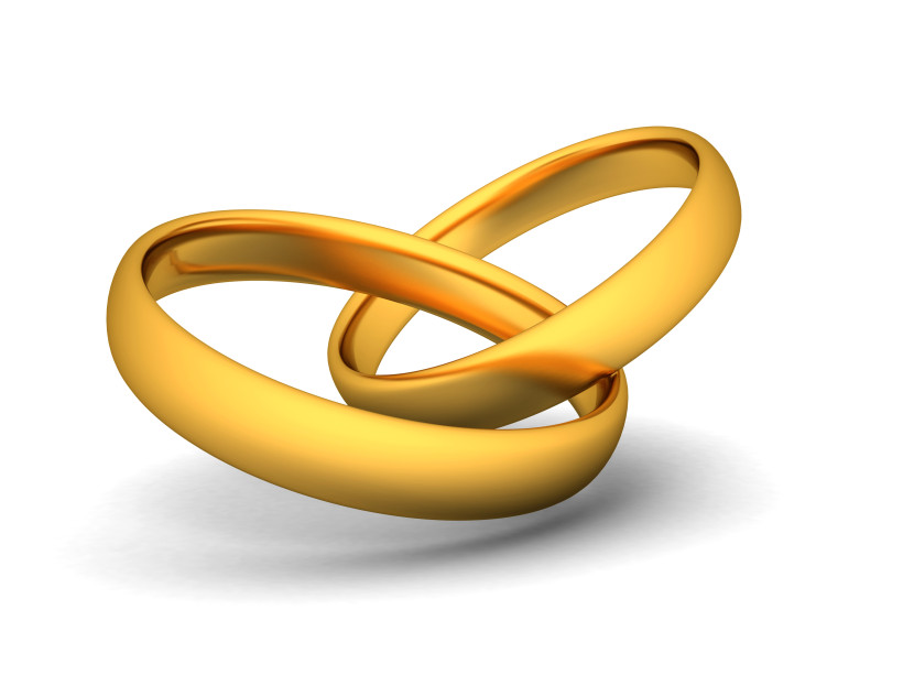 Golden Wedding Rings Clipart Free Clip Art Images
