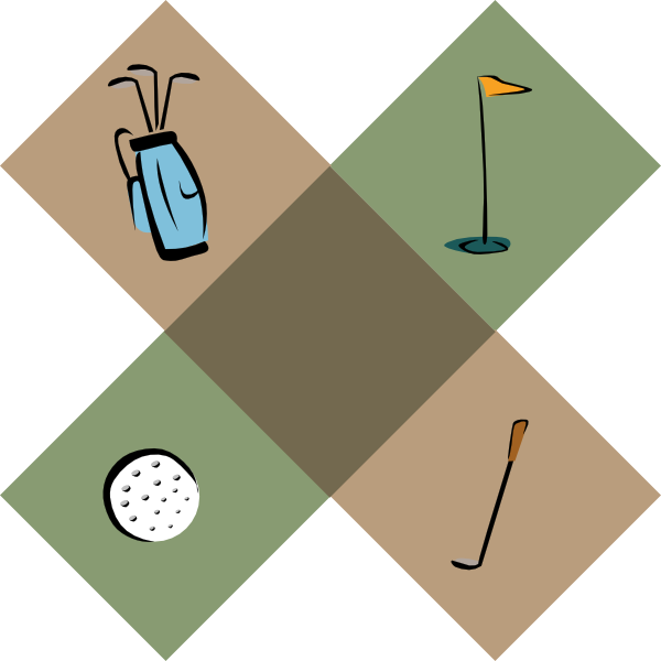 Golf Ball Borders Free Clipart Images