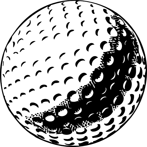 Golf Ball Clip Art At Vector Clip Art Online Royalty