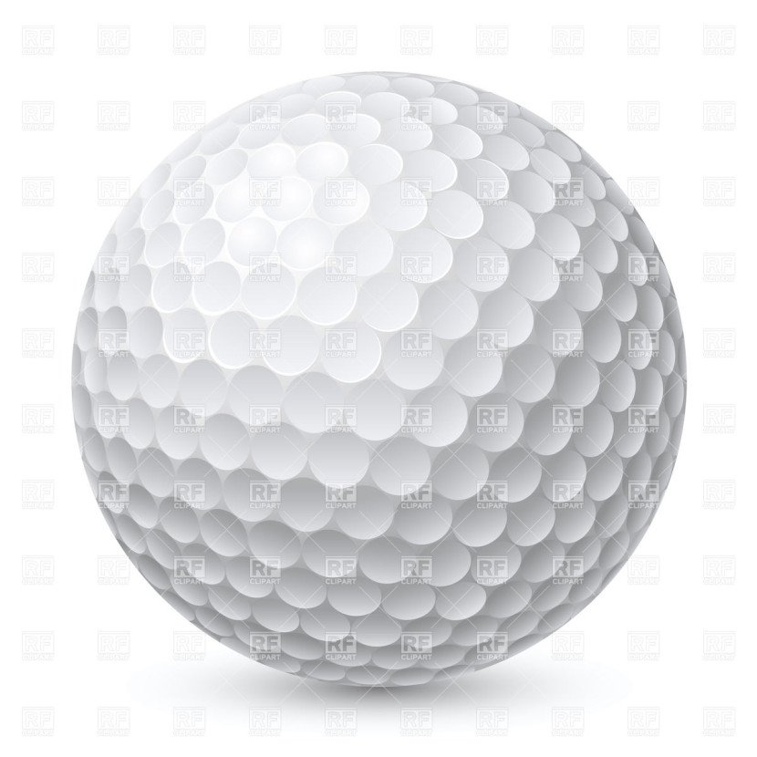 Golf Ball Clip Art One Golf Page 3