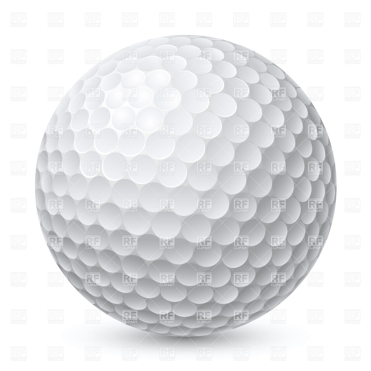Best Golf Ball Clipart #12401 - Clipartion.com