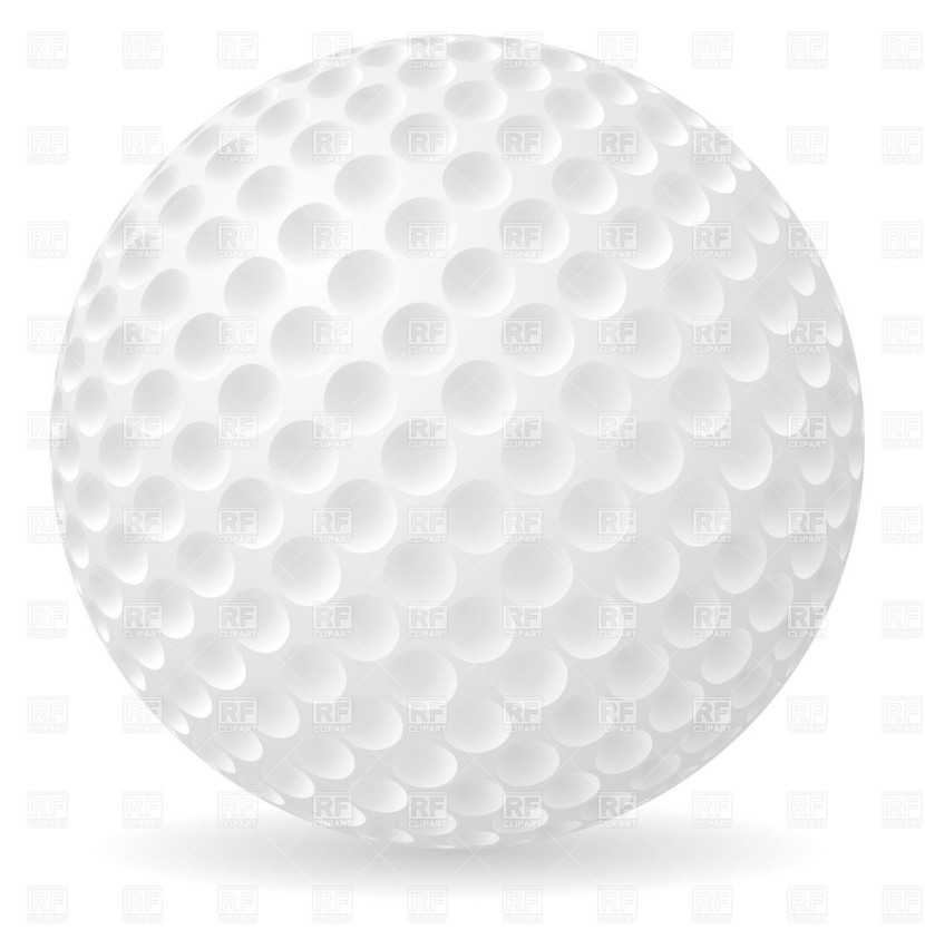 pictures of golf balls clipart - photo #21