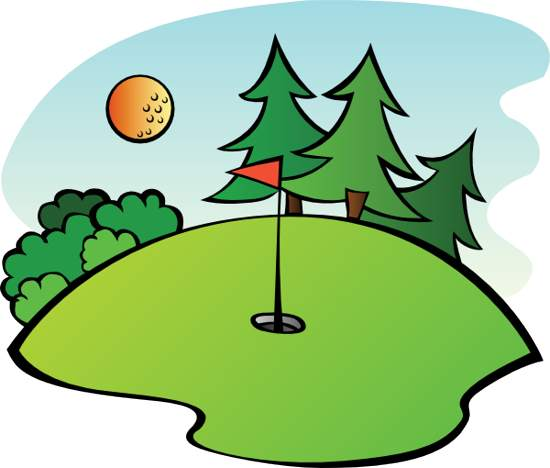Golf Borders Clipart