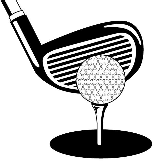 Golf Clipart Black And White Free Clipart Images