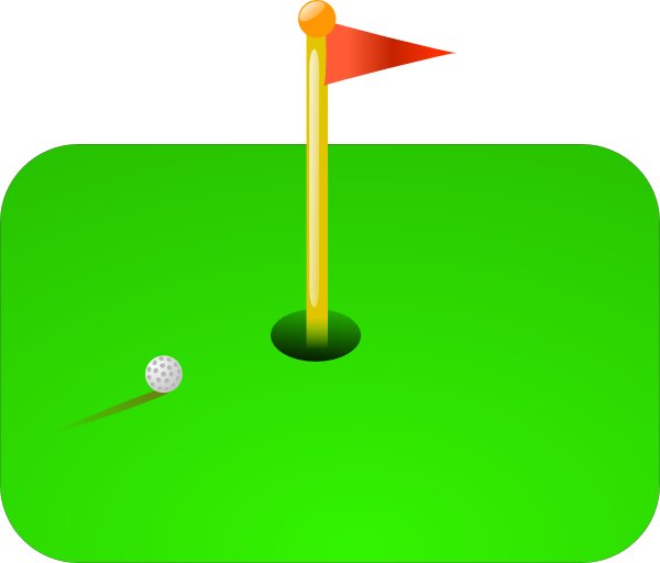 Golf Flag Ball Clip Art At Vector Clip Art Online