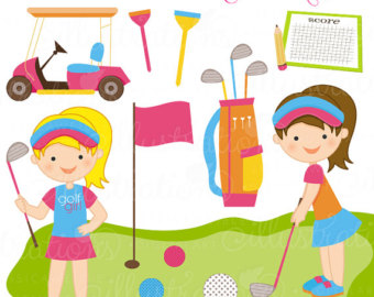 Golf For Lovers Clipart Free Clip Art Images