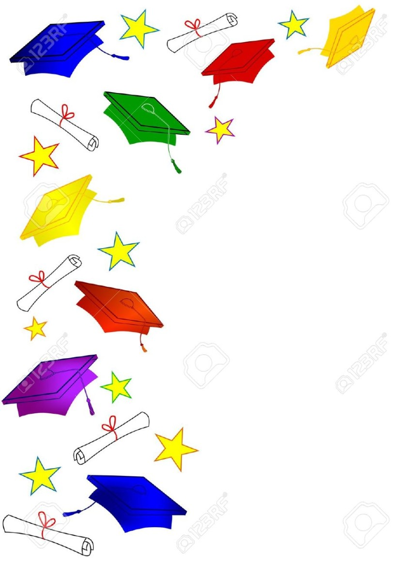 Graduation Border Images Stock Pictures Royalty Free Graduation