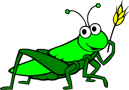 Grasshopper Drawing Free Clipart Images