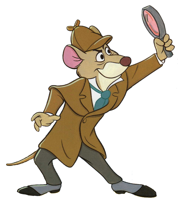 Great Mouse Detective Clipart