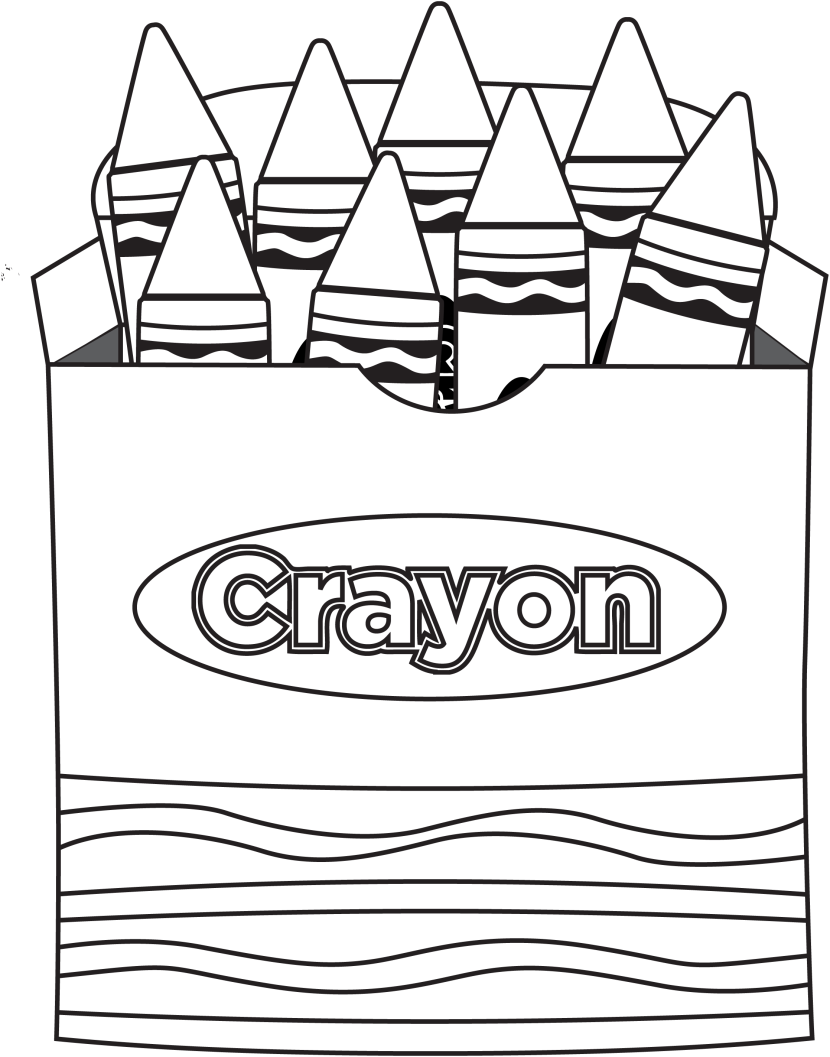 green-crayon-clipart-free-clip-art Free Coloring Pages