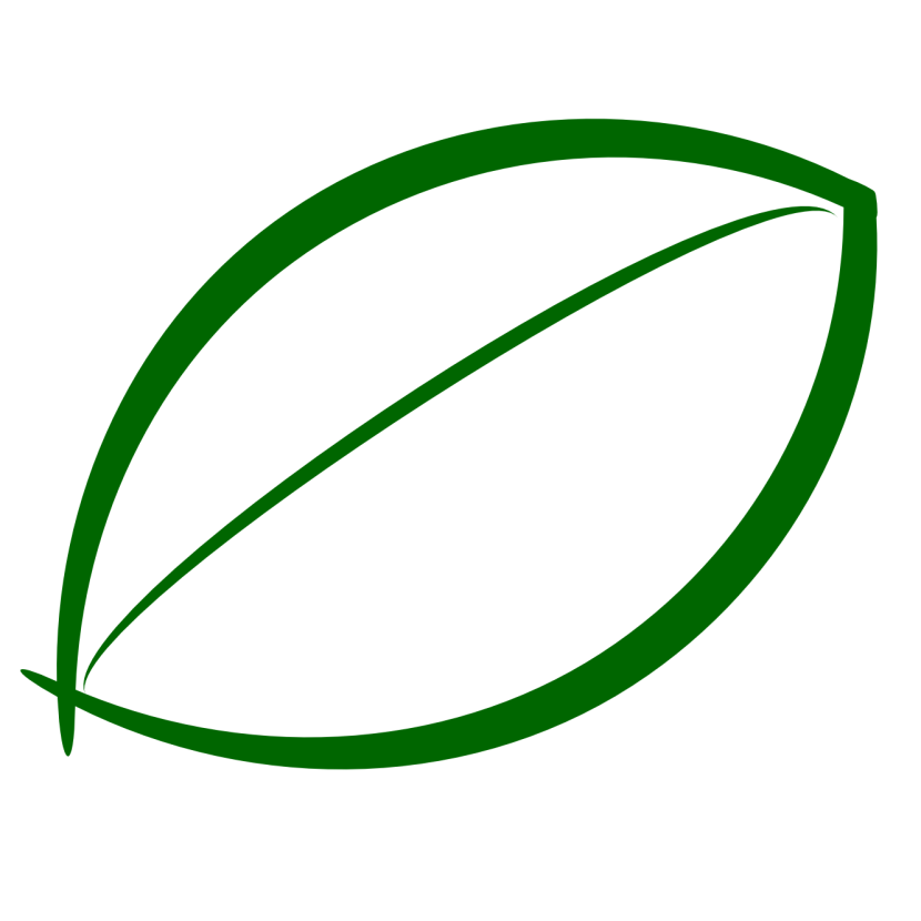 Green Leaf Outline