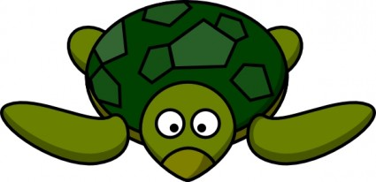 Green Sea Turtle Clip Art Free Vector In Open Office Drawing