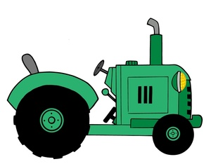 Green Tractor Clipart Free Clip Art Images