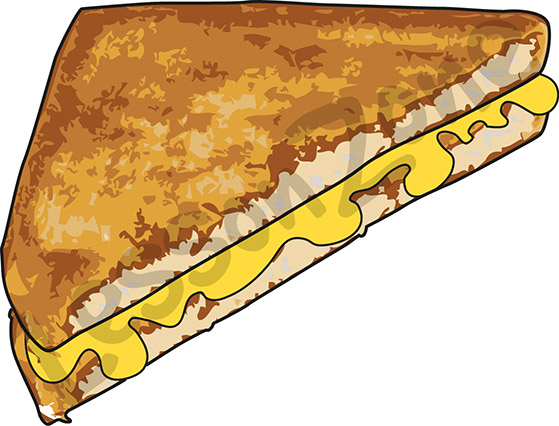 Grilled Cheese Clipart - Clipartion.com