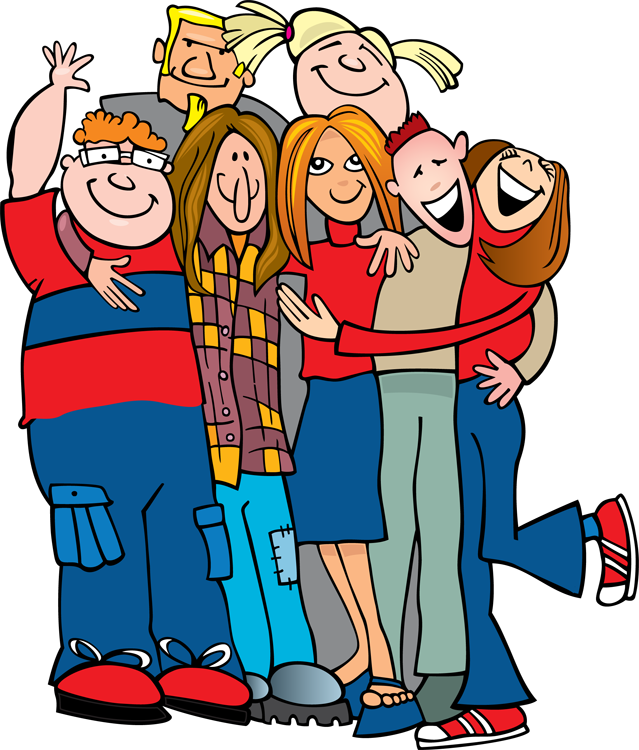 Group Hug Clipart
