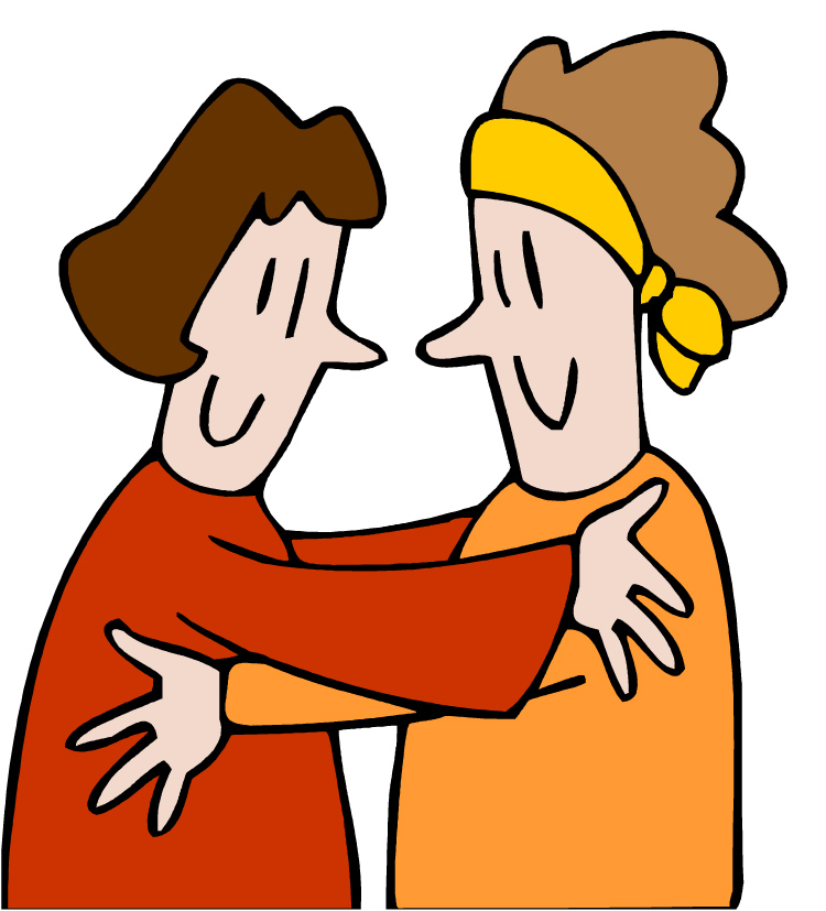 Group Of Friends Hugging Clipart Free Clipart Images