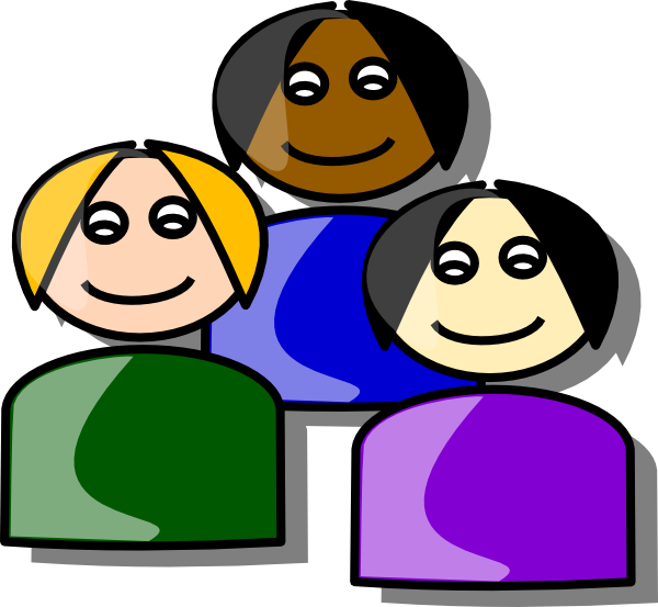 Group Of Happy People Clip Art Free Clipart
