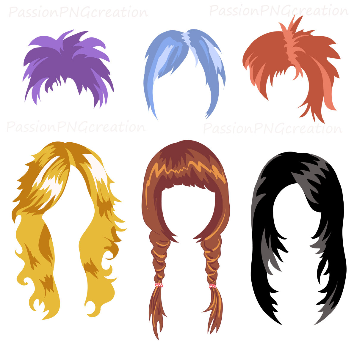 Hair Wig Clipart Free Clip Art Images
