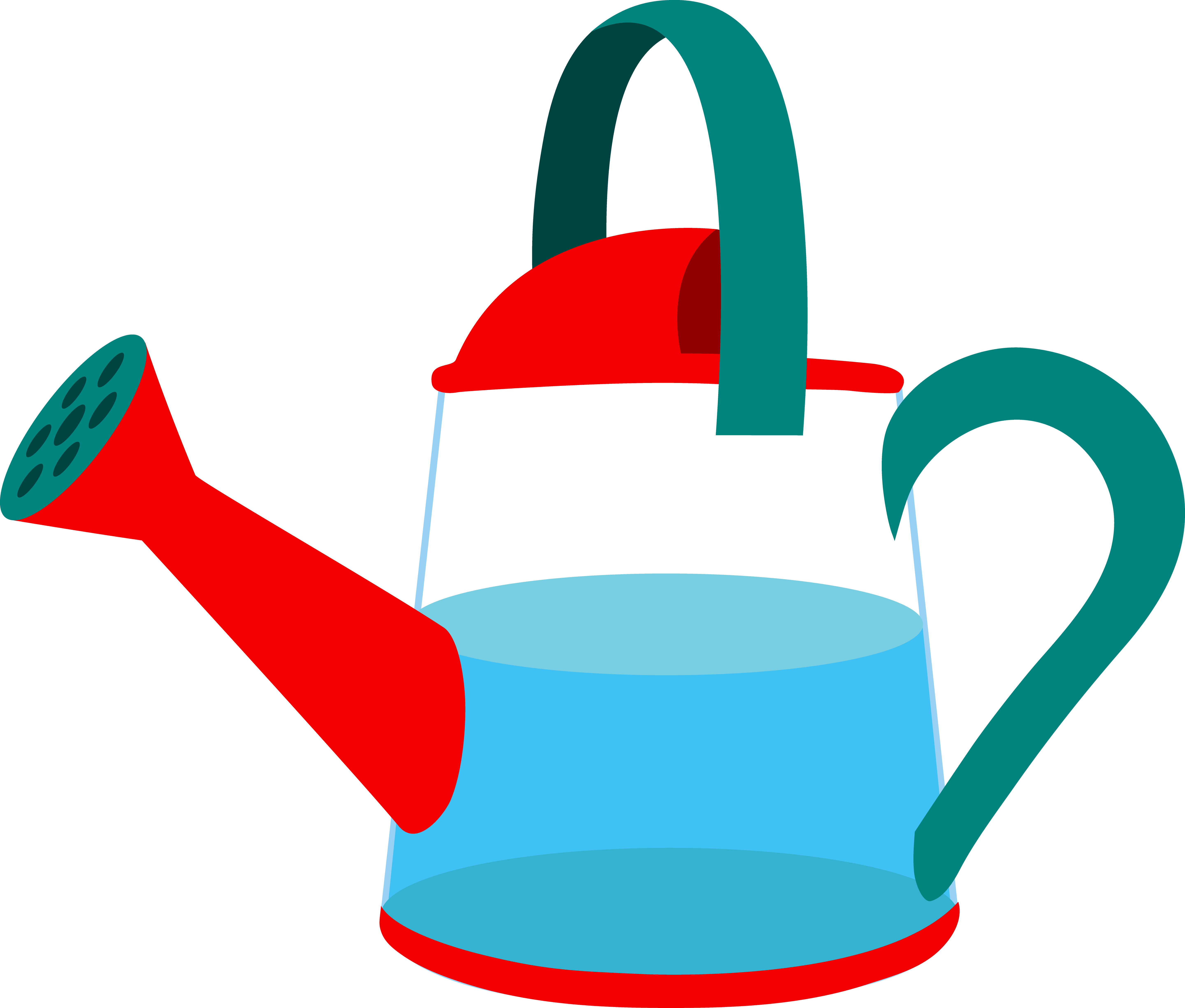 Best Watering Can Clipart #13115 - Clipartion.com