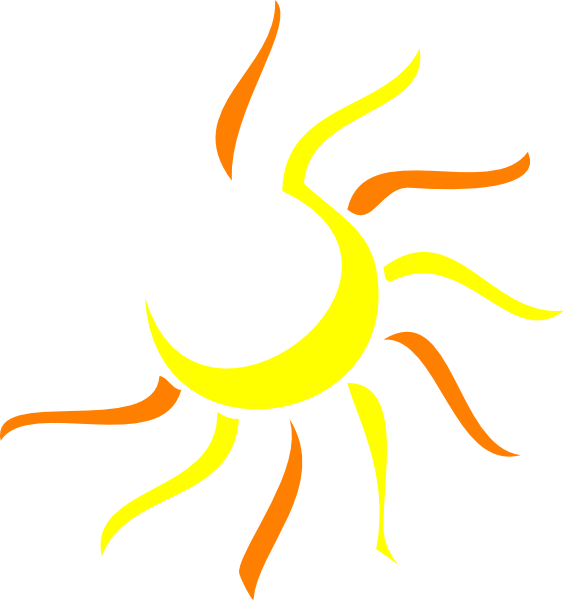 Half Sun Clipart Free Clipart Images