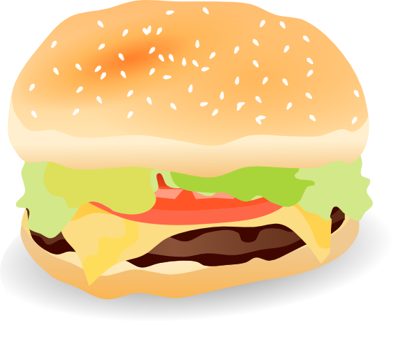 Hamburger Clip Art At Vector Clip Art Online Royalty