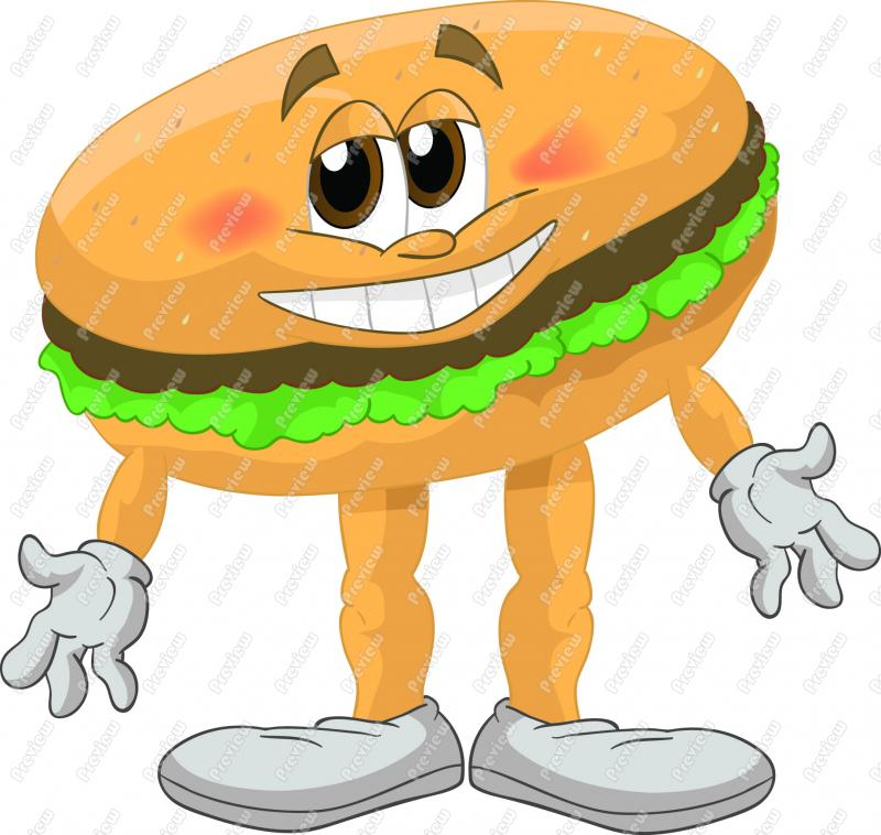 Hamburger Clipart Clipartion Com