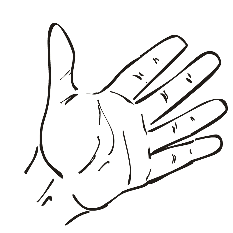 Hand Outline Template Printable