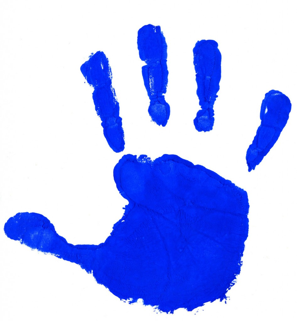 Handprint Hand Print Outline Clipart Free Clip Art Images