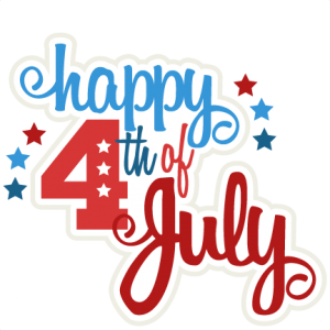 Happy 4th Of July Title Clipart Free Clip Art Images