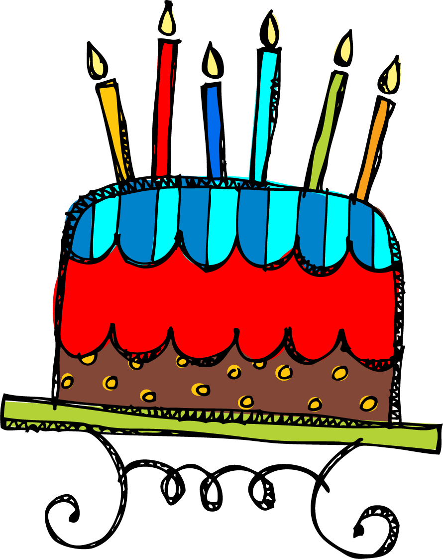 Birthday Cake Clipart 11710