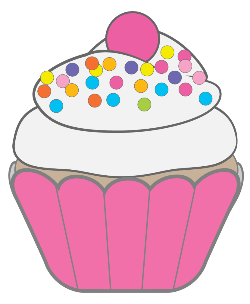 Happy Birthday Cupcake Clip Art Images And Vector Download Free