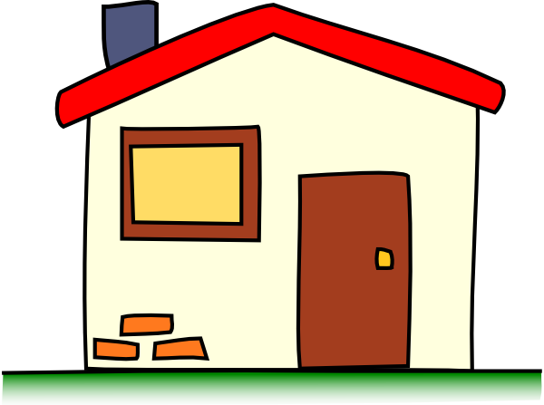 Happy House Clipart Free Clipart Images