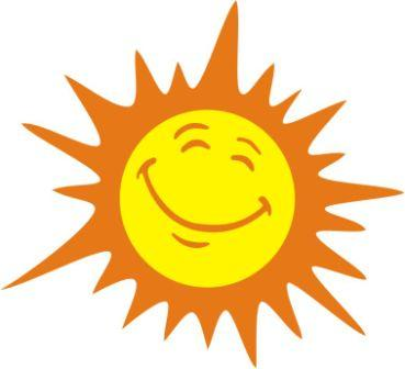 Happy Sun Clipart
