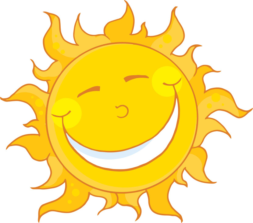 Happy Sun With Sunglasses Free Clipart Images